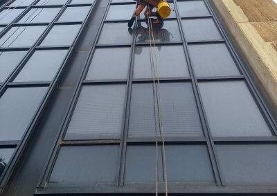 עבודות סנפלינג בגובה