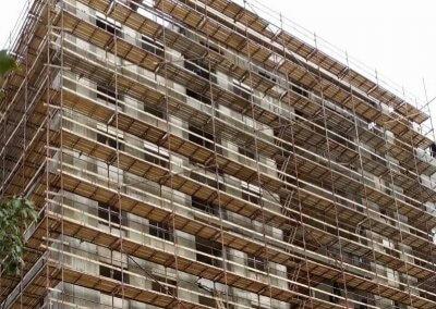 השכרת פיגומים בבנייה רוויה