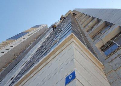 ניקוי חלונות בסנפלינג