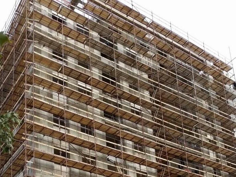 פיגומים בבנייה רוויה
