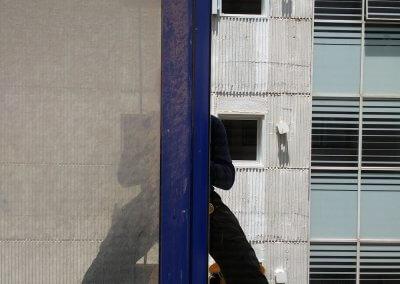 ניקוי חלונות בסנפלינג לפני ואחרי